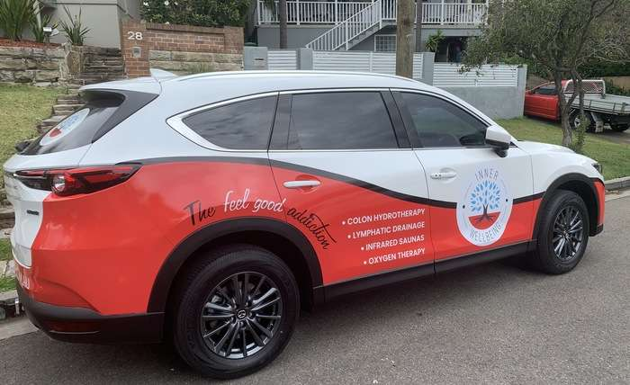 Company Car Wrap Complete!